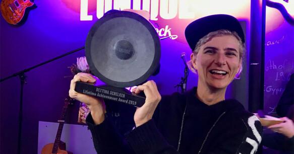 Bettina Schelker | L'Unique lifetime achievement award 2019 | L'Unique House of Rock